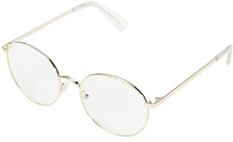 The Book Club Bothering Sights (Gold/Clear) Reading Glasses Sunglasses