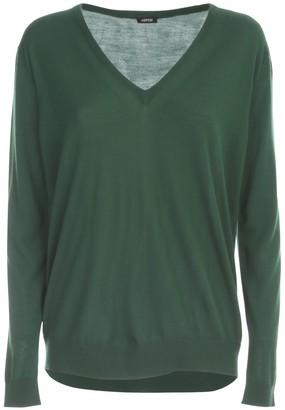 Aspesi Oversized Sweater V Neck