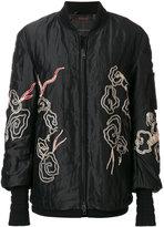 Ermanno Scervino embroidered bomber jacket