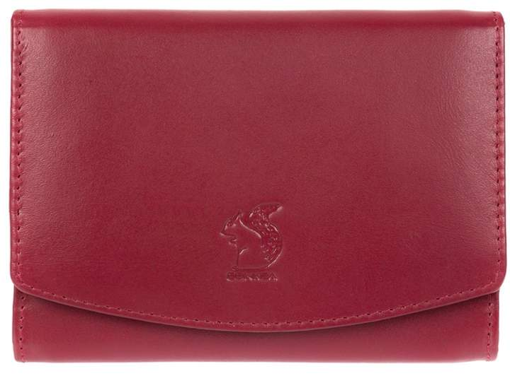 Monroe Conkca London - Red 'Monroe' Genuine Leather Rfid Purse