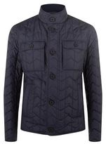 BOSS Zig Zag Quilted Jacket