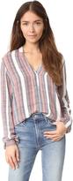 Just Female Stripe Shirt