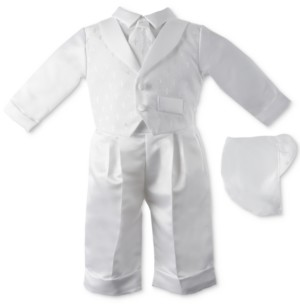 Lauren Madison Baby Boys 3-Pc. Tuxedo Christening Set