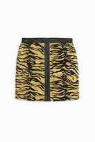 ADAM by Adam Lippes Tiger Mini Skirt