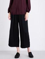 Raquel Allegra Wide-leg satin trousers