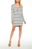 Chaser Striped Dress