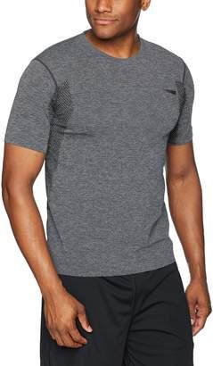 Copper Fit Men's Seamless Short Sleeve T-Shirt Grey Heather S