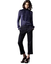 Diane von Furstenberg Cavaro Pinstripe Pants