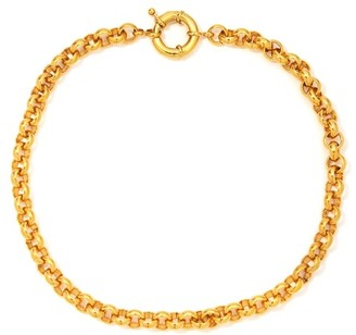 Timeless Pearly 24kt Gold-plated Chain Necklace And Charm Set - Gold Multi
