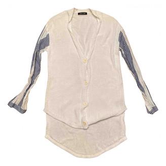 Damir Doma White Cotton Knitwear