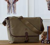 Pottery Barn Kids Parker Messenger Bag - Olive