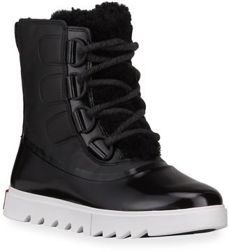 Sorel Joan Next Lite Waterproof Patent Leather Boots
