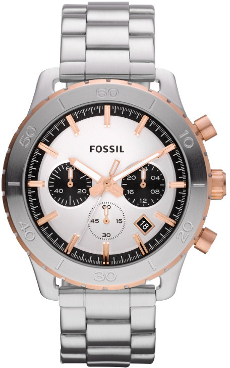 Fossil Keaton Chronograph Stainless Steel Watch