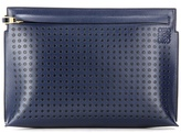 Loewe Dots T Pouch Leather Clutch