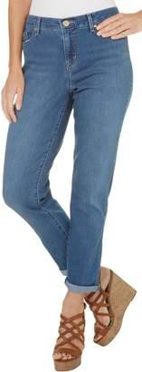 Gloria Vanderbilt Women's Monica Roll-Cuff Ankle Jean Costa Rei Wash