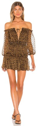 House Of Harlow x REVOLVE Sapphire Mini Dress