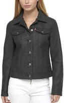 Levi's Women's Classic Faux Leather Trucker Jacket