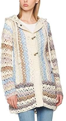 Khujo Women's LADDY Chunky Cardingan Knit Cardigan,UK 10