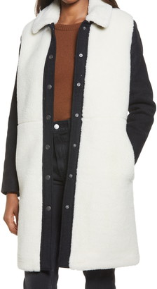 Madewell McClancy Faux Shearling Coat
