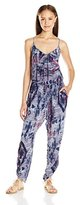 Billabong Juniors Take Me Away Printed Jumpsuit