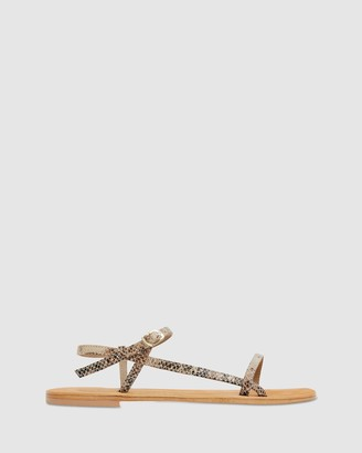 Urge Women's Multi Flat Sandals - Pippi - Size One Size, 37 at The Iconic