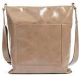 Hobo Reghan Leather Crossbody Bag - Grey