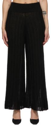 RUS Black Alpaca Shoji Lounge Pants