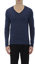 Barneys New York MEN'S V-NECK SWEATER