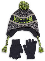 Capelli New York Dude Hat and Gloves Set