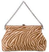 Halston Ponyhair Frame Bag