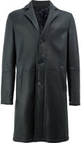 Drome straight-fit buttoned coat