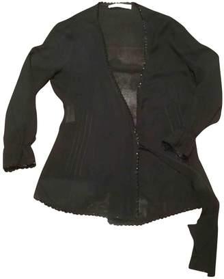Miu Miu Black Silk Knitwear for Women