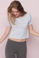 Garage Cropped Classic Crew Neck