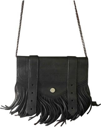 Proenza Schouler PS1 Touch Black Leather Clutch bags