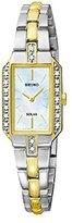 Seiko Women's SUP234 Dress Solar Two-Tone Watch