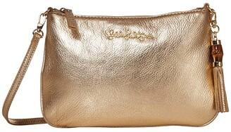Lilly Pulitzer Cruisin Crossbody Bag (Gold Metallic) Handbags