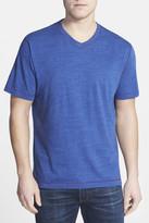 Robert Graham Battleship V-Neck T-Shirt