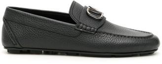 Valentino V Logo Alce Driver Shoes