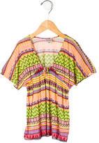 Milly Minis Girls' Printed T-Shirt