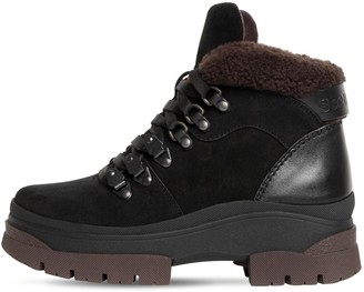 See by Chloe 30mm Suede Hiking Boots