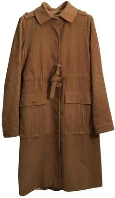 Paul & Joe Beige Cotton Coat for Women Vintage