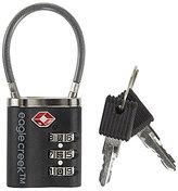 Eagle Creek 3-Dial Cable TSA Lock with Keys
