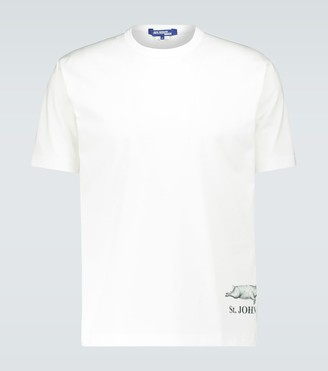 Junya Watanabe St. John printed cotton T-shirt