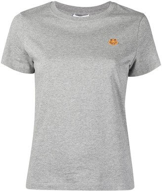 Kenzo Tiger logo patch T-shirt