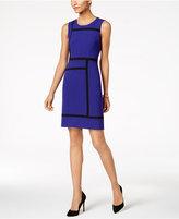 Nine West Colorblocked Sheath Dress