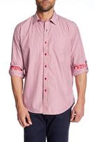 Robert Graham Bendetto Striped Long Sleeve Classic Fit Shirt