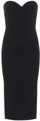 Alex Perry Kye crepe midi dress