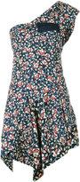 Isabel Marant one shoulder 'Ricco' dress - women - Silk/Cotton - 36