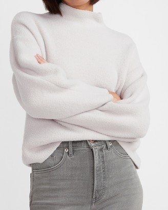 Express Cozy Mock Neck Sweater