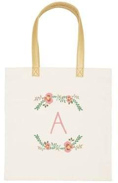Cathy's Concepts Floral Canvas Tote